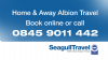 STAFF TRAVEL - Albion vs Chelsea - 1/1/20 - Wednesday - Home - 12:30 Kick Off